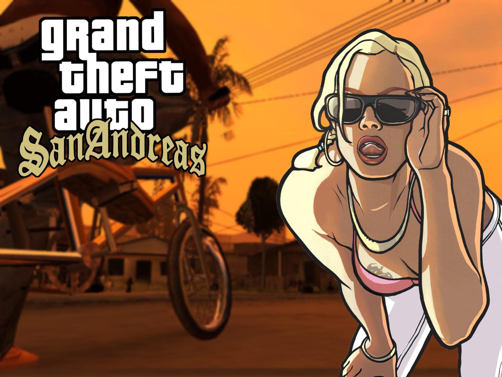 Animelist Exclusive GTA: San Andreas Wallpaper ! 1600x1200 185 ko