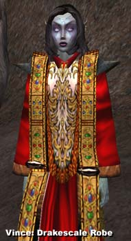 Morrowind Drakescale Robe
